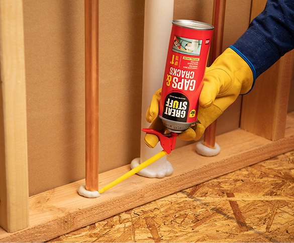 Multipurpose Black Insulating Foam Sealant | GREAT STUFF™