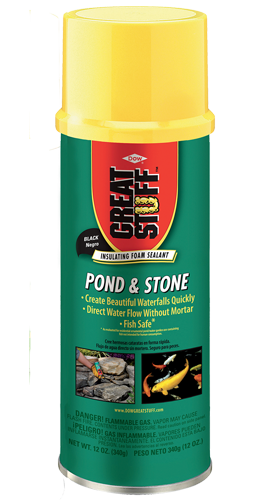 Pond & Stone Filler, Sealer and Adhesive - Landscape Foam | Great Stuff