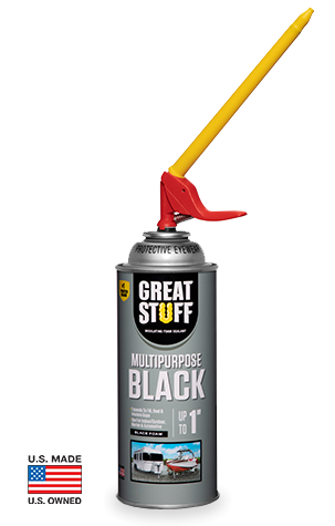 GREAT STUFF™ Multipurpose Black  Insulating Foam Sealant