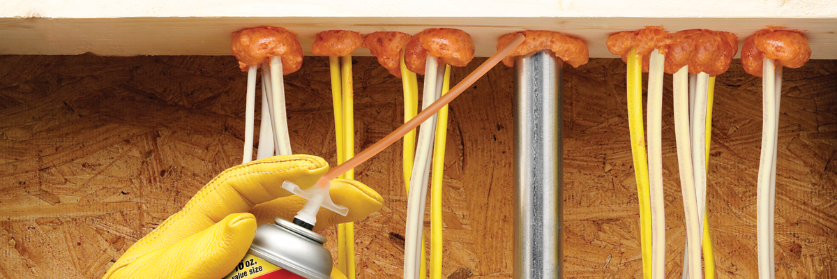 Air Seal Around Electrical Panels - Spray Foam Insulation | Great Stuff