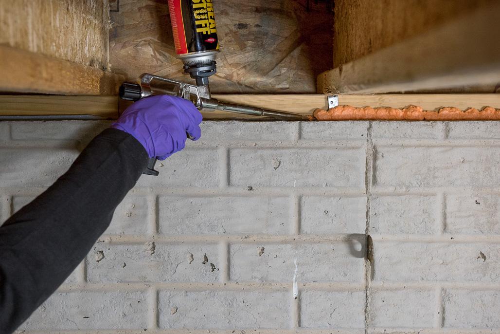 Pestblock Insulating Foam Sealant - Pest Blocking Foam