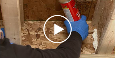 How To Seal Air Leaks In Attic Spray Foam Insulation