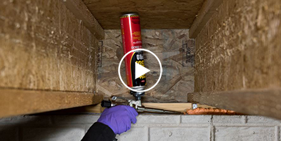 How to Seal Around Electrical and Cable Lines -Spray Foam