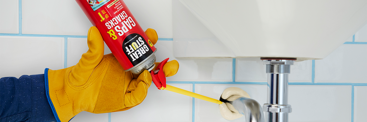 Gaps & Cracks Insulating Foam Sealant - Foam Gap Filler | GREAT STUFF™