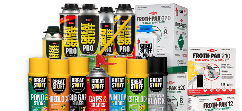 Insulating Foam Sealants and PRO Series | GREAT STUFF™